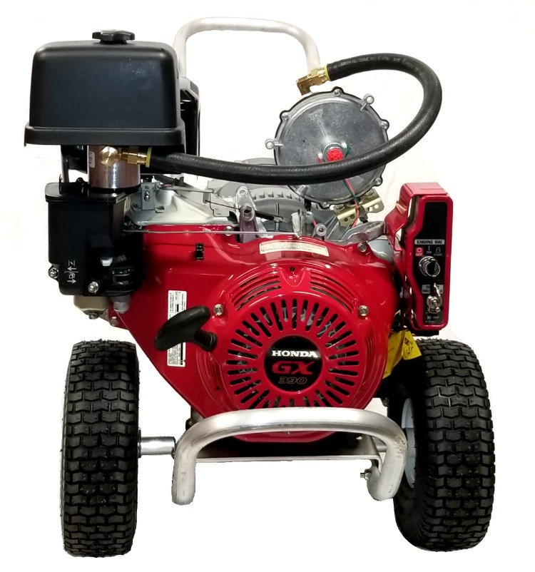 SG7000AA - 7000/12000 Watt Dual Fuel Portable Generator With Honda Engine